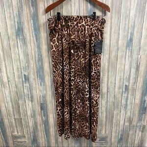Goddess Pants sz M Pull On Belted NEW # R43